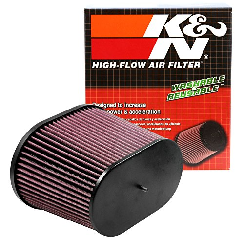 K&N RC-5178 Universal Clamp-On Air Filter: Oval Straight; 3.688 in (94 mm)