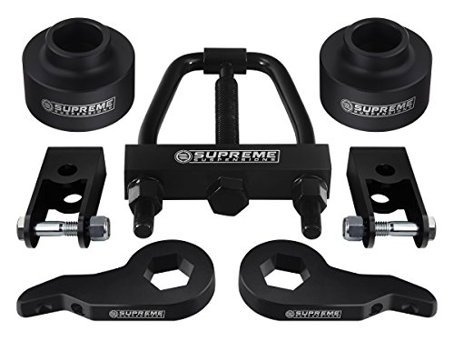 """Supreme Suspensions - 1"""" - 3"""" Front Lift + 1.5"""" Rear Lift Kit with Torsion Tool"""