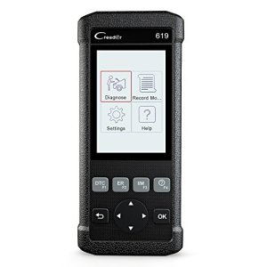 Launch Creader CR619 Automotive ABS SRS Obd2 Obd ii Scanner Check Car Engine