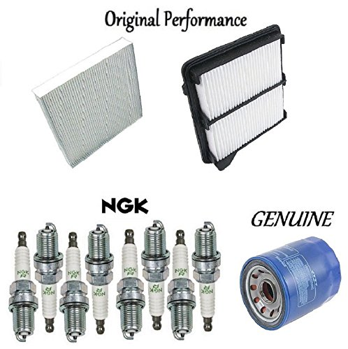 Tune Up Kit Filters Air Oil Spark Plugs for Honda Civic Hybrid 1.3L 2006-2010