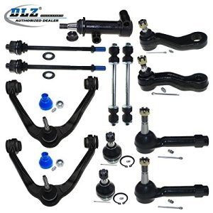 DLZ 13 Pcs Front Kit-Upper Control Arm Lower Ball Joint