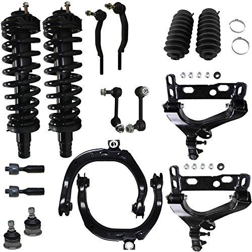 Detroit Axle - Brand New 16pc Complete Front Suspension Kit