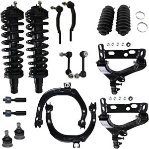 Detroit Axle - Brand New 16pc Complete Front Suspension Kit