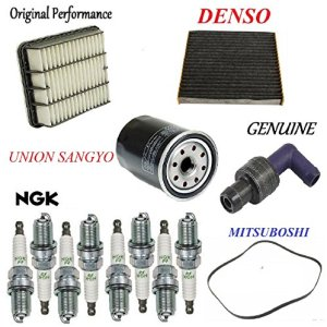 Tune Up Kit PCV Valve Filters Spark Plug Belt for Lexus LS430 2001-2003