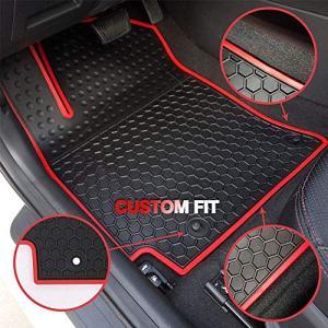 HD-Mart Car Floor Mats Rubber for Honda Civic 10th