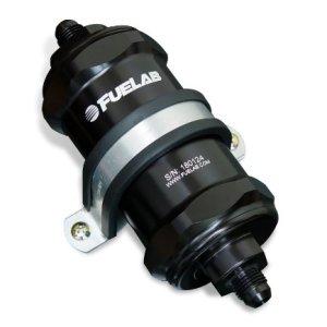 Fuelab 81802-1 Black 10 Micron Standard Length In-Line Fuel Filter