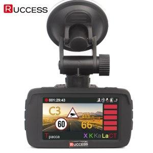 Ambarella Car DVR 3 in 1 Radar Detector GPS Video Recorder