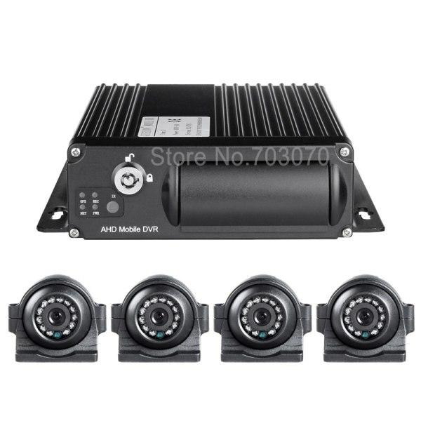 Night Vision IR 2.0MP AHD Car Camera +1080 4G