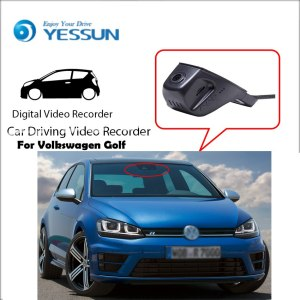 Dash Cam for Volkswagen Golf Car Driving Video