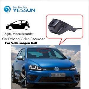 Dash Cam for Volkswagen Golf Car Driving Video