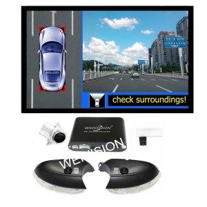 360 bird View Car DVR for VW Tiguan Passat Sagitar Magotan