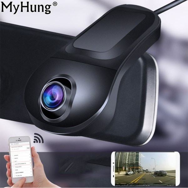 Night Vision Car DVR Camera Full HD 1080P Parking Recorder