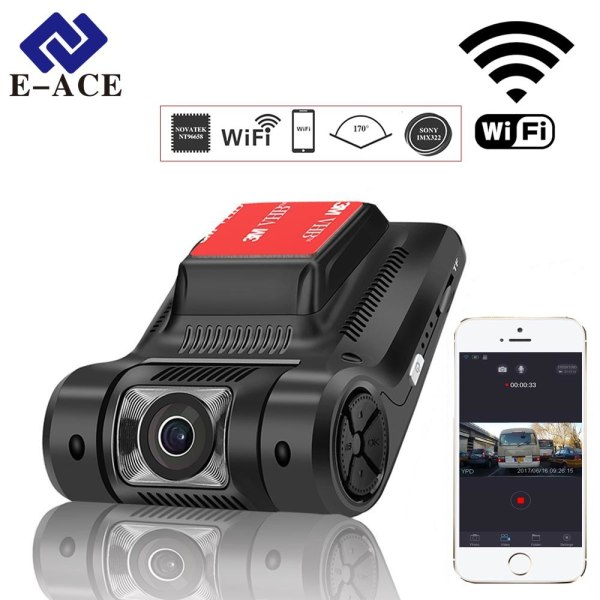 Hidden Mini Wifi Car Dvr Auto Camera Digital Video Recorder Dashcam Novatek