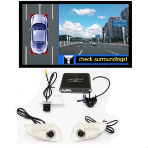 All round rear View Camera for LEXUS RX ES 2013