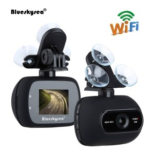 HD 1080P 2MP Wifi Car Dash Camera Novatek