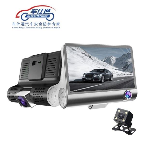 Car DVR Camera Dual Lens with Rear view