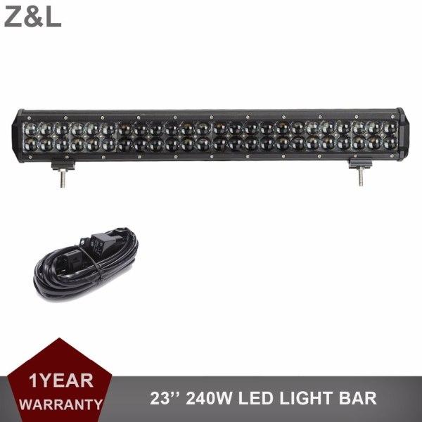 Offroad LED Light Bar 12V 24V Auto Boat Van Camper ATV