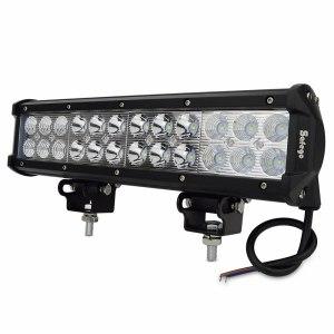 12inch 72W LED Light Bar Spot Flood Combo Offroad fog Lights