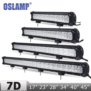 Straight LED Light Bar + DRL Offroad 4x4 Led Work Light Bar