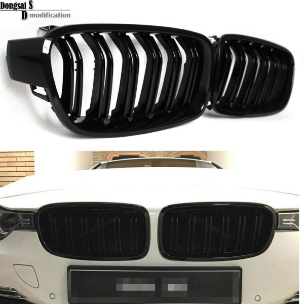 Grill M3 Style F31 Black Replacement Grille For BMW F30 F31 2012+