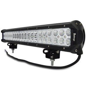 Safego 20'' inch led light bar 126w work light for off road
