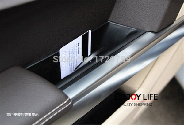 Glove Box Phone Holder Container For Mercedes Benz C Class
