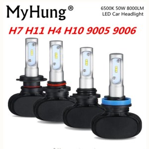 MyHung S1 Car Headlight 50W 8000LM Automobile Bulb LED Light