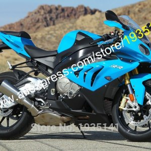 Hot Sales,For BMW Blue Black ABS Motorcycle Fairing Kit (Injection molding)