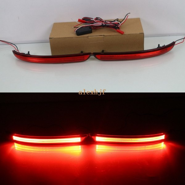 July King Car LED Brake Llights Case for Toyota Innova 2015-2016