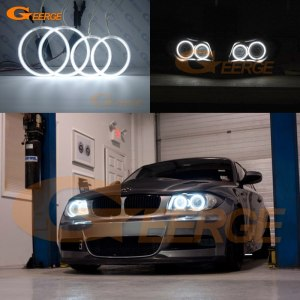 Angel Eyes Ultra bright For BMW 1 Series E81 E82 E87 E88 2004-2012