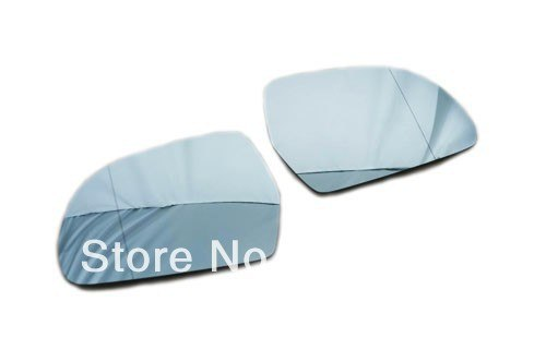 Blue Tinted Aspherical Side Mirror Glass For Audi A4 B8 A3 8P A5