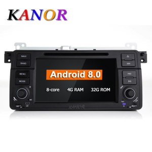 Android 8.0 Car DVD Player For BMW E46 M3 Double Din Octa Core