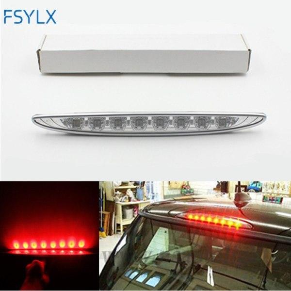 FSYLX Third 3rd Brake Light For bmw MINI Cooper R50 R53 Brilliant Red