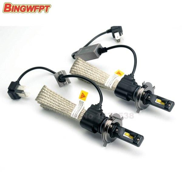 LED H4 9003 HB2 Car Headlight 30W 3200LM 6500K 5500k Hi/Lo Beam