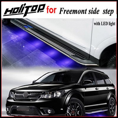 Fiat Freemont side step ide bar, with LED light