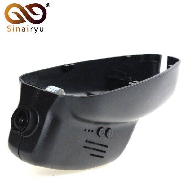 Sinairyu 96658 Car WIFI DVR Dash Camera for BMW 3/5 Series/X1 before 2013 X3 before 2015 Control by App Dual Camera Optional