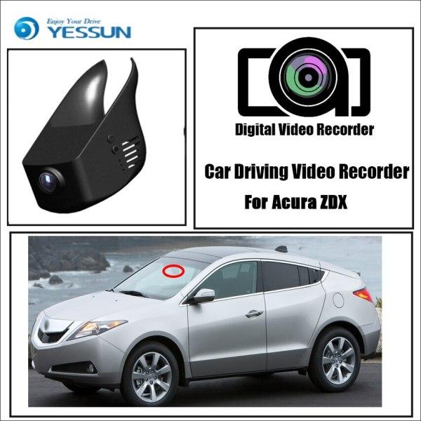 YESSUN for Acura ZDX Car Driving Video Recorder DVR Mini Wifi Camera Novatek 96658 FHD 1080P Dash Cam Original Style