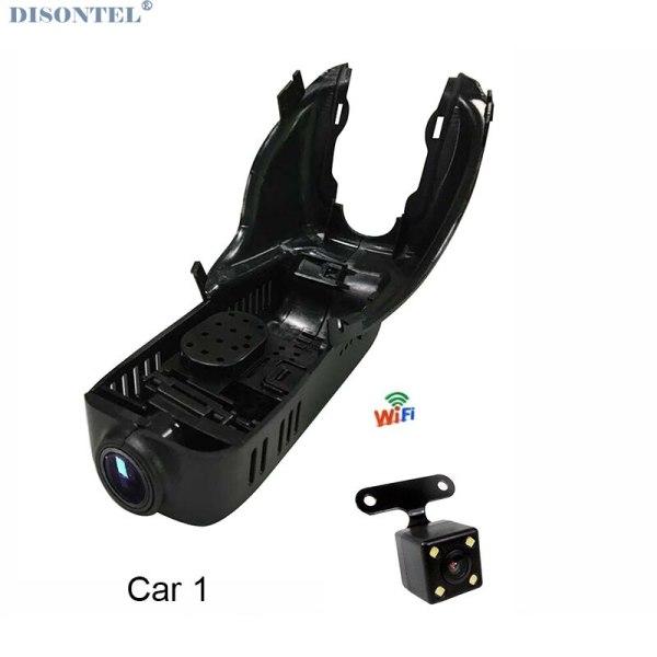 For Volvo XC60 2009-2017 Car Video Recorder Car Wifi DVR Dash Cam Dual Cameras