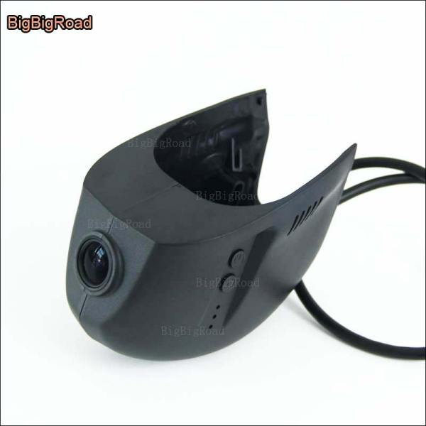 BigBigRoad For Volkswagen golf 7 2010 2011 2012 2013 2014 2015 2016 Car Video Recorder Dual Lens wifi DVR Dash cam