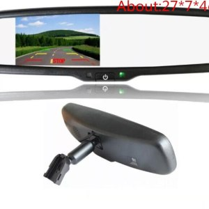 Upgrade OE Parking Mirror Monitor 4.3 original bracket special for Toyota mirror parking monitor with Video in to DVD/Camera
