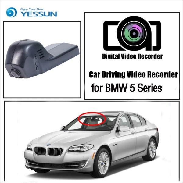 YESSUN for BMW 5 Series Car DVR Dash Camera Driving Video Recorder Novatek 96655 FHD 1080P Dash Cam Night vision