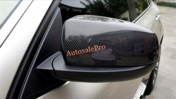 BMW X5 E70 Real Carbon Fiber Car Side Door Mirror Rearview