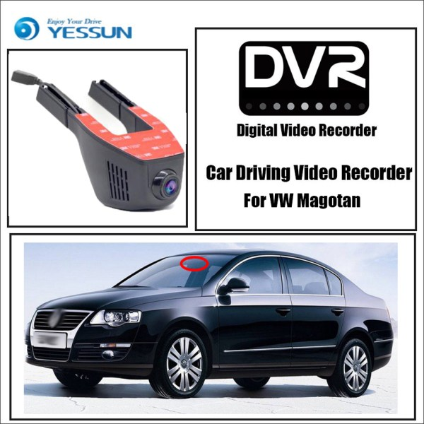 YESSUN for Volkswagen Magotan Car Driving Video Recorder Wifi DVR Mini Camera Novatek 96658 FHD 1080P Dash Cam Night Vision