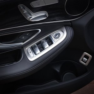 Lift Switch Button Cover Trim Frame For Mercedes C Class Benz