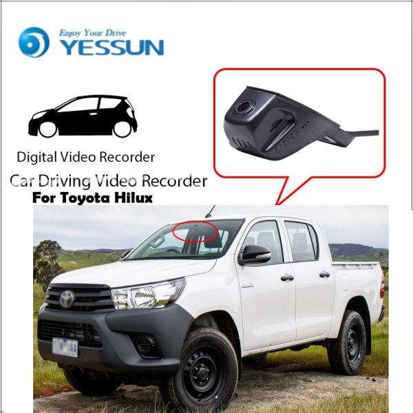 YESSUN for Toyota Hilux Car Wifi DVR Mini Camera Driving Video Recorder Novatek 96658 Registrator Dash Cam Night Vision