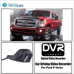 YESSUN for Ford F-Series Car DVR Driving Video Recorder Mini Control APP Wifi Camera FHD 1080P Registrator Dash Cam