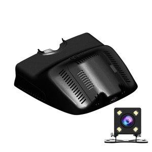 WiFi APP Manipulation Car DVR Camera For Mercedes-Benz GLK Series GLK 350 GLK300 2012 X204 Deluxe Dual Video Recorder Dash Cam