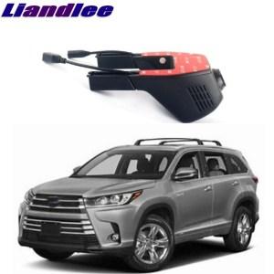 Liandlee For Toyota Highlander Kluger XU20 XU40 XU50 2000~2018 Car Road Record WiFi DVR Dash Camera Driving Video Recorder