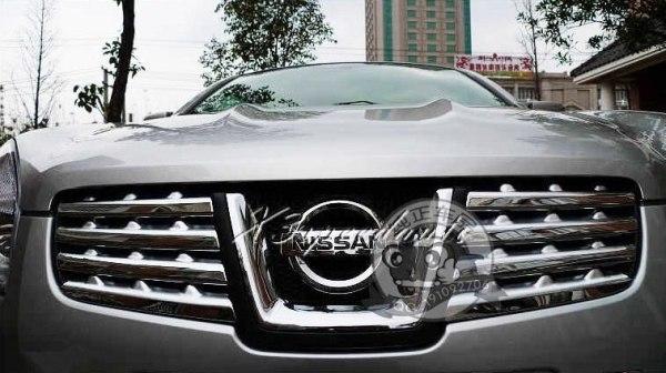 Nissan Qashqai 2007-2009 Grill Trim Cover