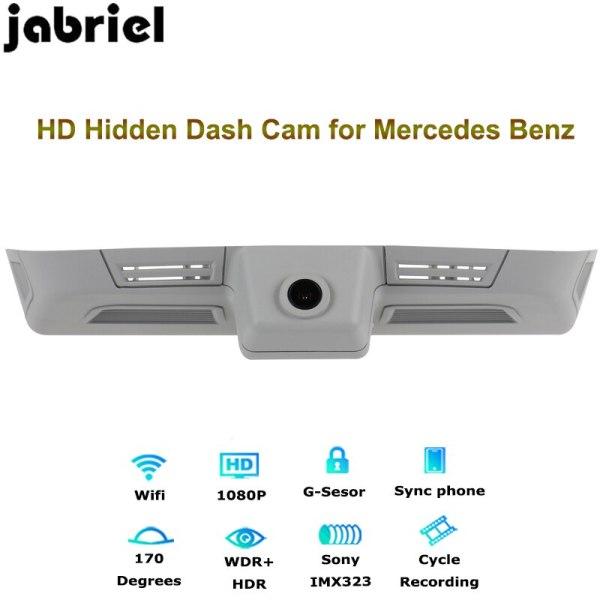 Jabriel for Mercedes Benz ML400 ML500 GL400 GL500 hidden HD car driving recorder rearview cam dash camera W163 W164 X164 X166